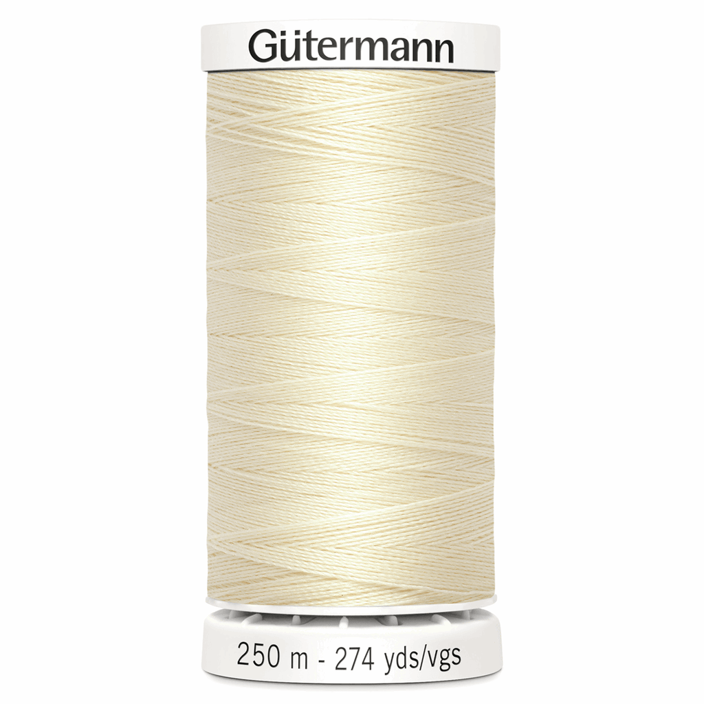 Sew-All Polyester Sewing Thread - Colour: #414 Cream
