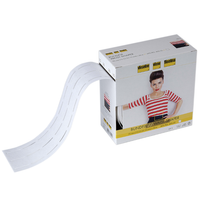 Fuse and fold tape for accurate skirt and trouser waistbands