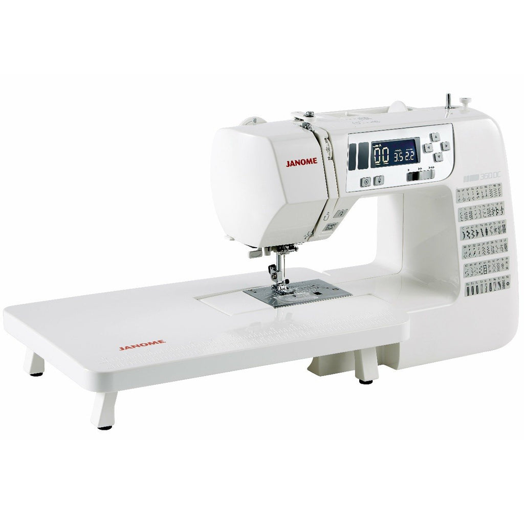 Janome 360DC sewing machine from Jaycotts Sewing Supplies