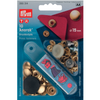 Press Studs (Non-Sew) - Gold 15mm: Pack of 10
