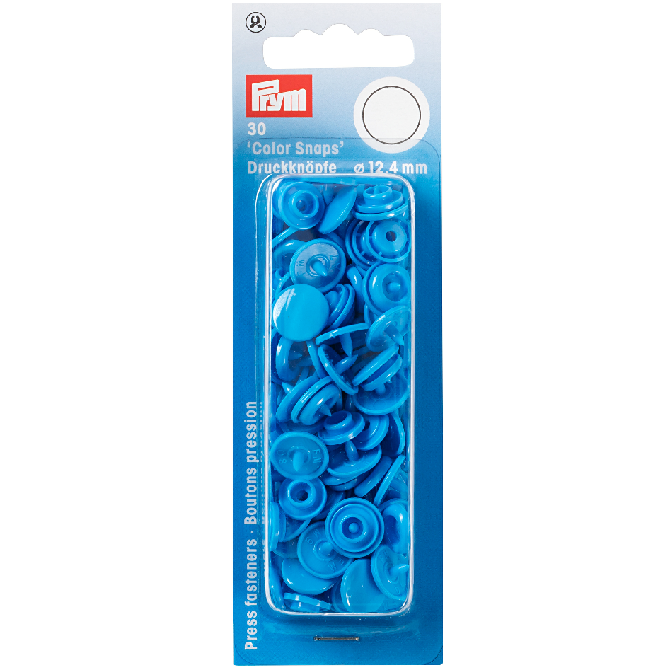 Prym Colour Snaps - Saxe Blue