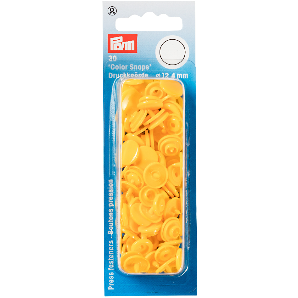 Prym Colour Snaps - Buttercup