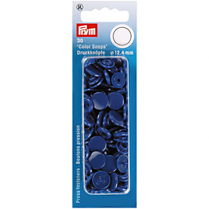 Prym Colour Snaps - Royal Blue