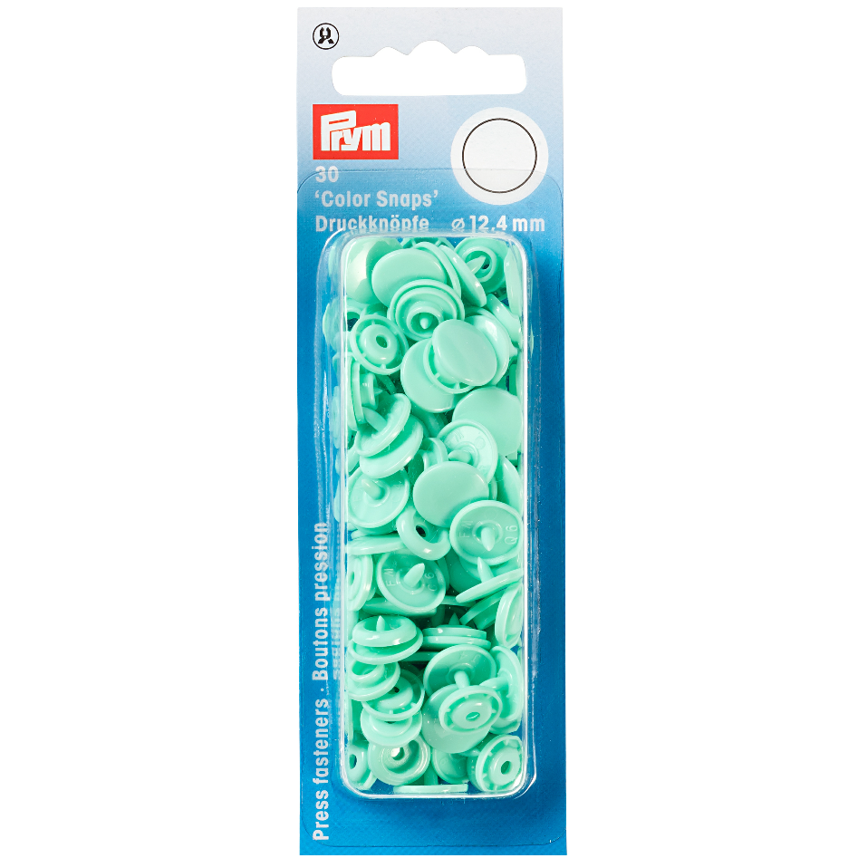 Prym Colour Snaps - Mint