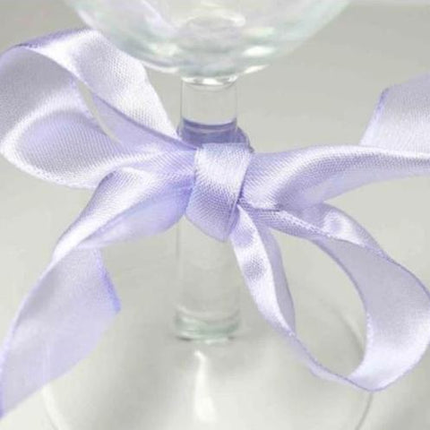 Wired Edge Organza Ribbon | pale lilac