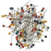Prym Plastic Head Pins | 15g pack from Jaycotts Sewing Supplies