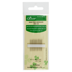 Clover 468 Gold eye Quilting Needles