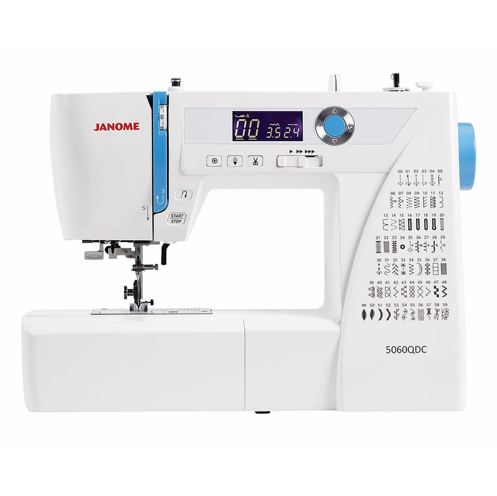 Janome 5060QDC sewing machine from Jaycotts Sewing Supplies