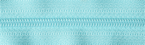YKK Concealed Zip LIGHT TURQUOISE from Jaycotts Sewing Supplies