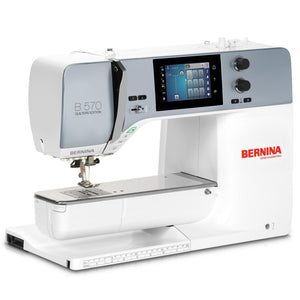 Bernina new 570 QE sewing machine