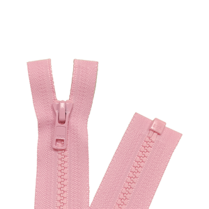 YKK Open End Zip - Medium Plastic | colour 513 Pink