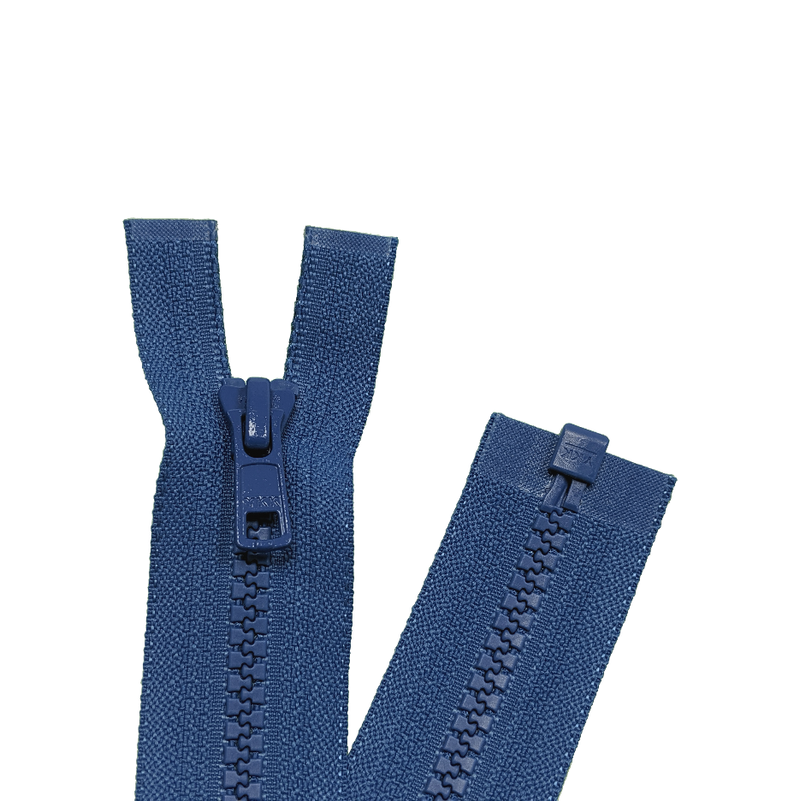 YKK Open End Zip - Medium Plastic | Colour 557 Saxe Blue from Jaycotts Sewing Supplies