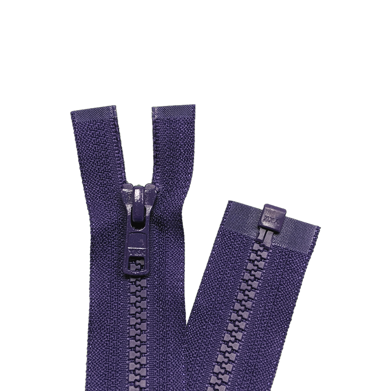 YKK Open End Zip - Medium Plastic | colour 866-Purple from Jaycotts Sewing Supplies
