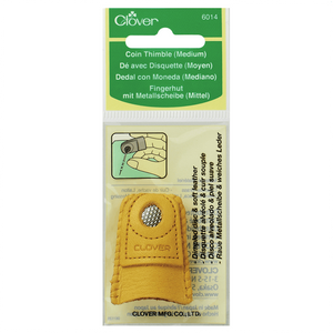 Leather Coin Thimble from Jaycotts Sewing Supplies