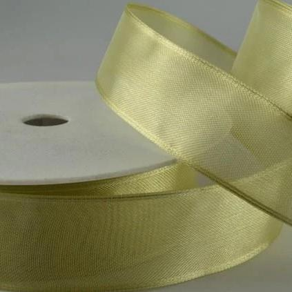 Wired Edge Organza Ribbon | Pale Misty