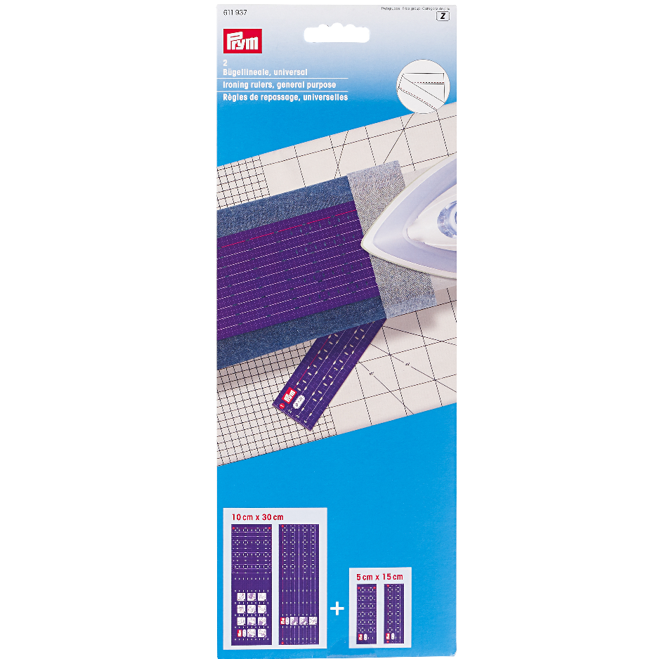 Prym Ironing Rulers | 611937 from Jaycotts Sewing Supplies