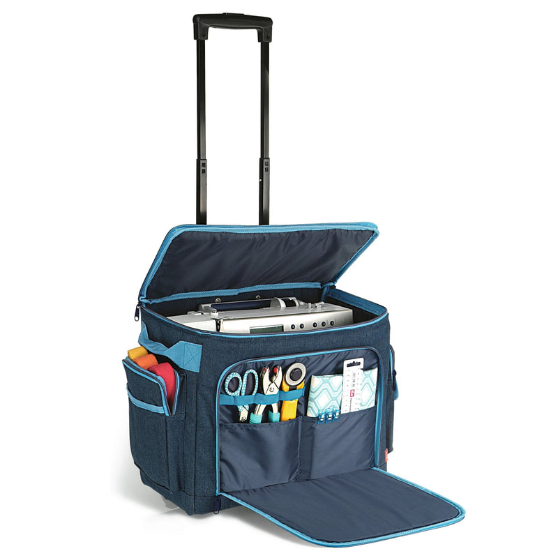 Prym Sewing Machine Trolley | Denim from Jaycotts Sewing Supplies