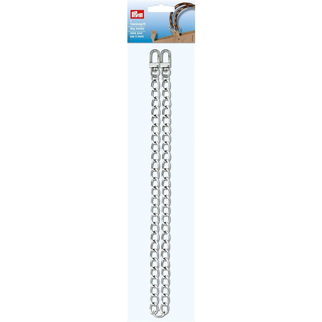Prym Metal CHAIN HANDLE / STRAP Silver 615149