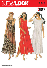 NL6229 Misses Boho Dress | Easy from Jaycotts Sewing Supplies