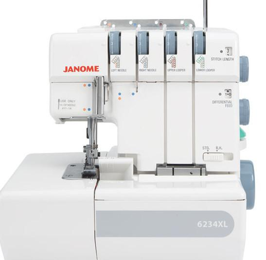 Janome 6234XL Overlocker sturdy and easy to use