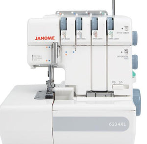Janome 6234XL Overlocker from Jaycotts Sewing Supplies