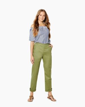Burda Pattern 6242  Trousers/Pants with Side Zip Fastening  –   Hip Yoke Pockets – Turn-ups from Jaycotts Sewing Supplies
