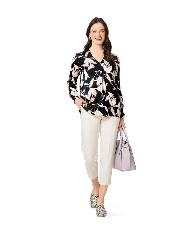 6278 Burda Sewing Pattern |  PLUS SIZE Blouses