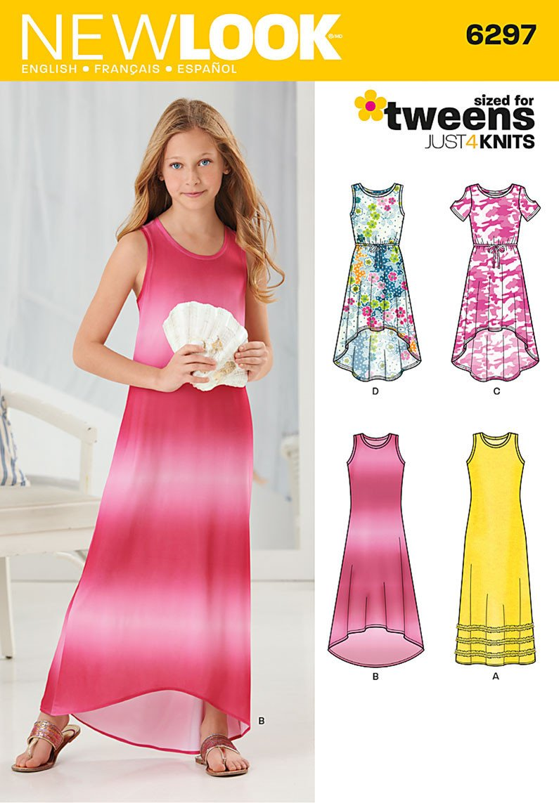 New Look 6297 Multi size sewing pattern