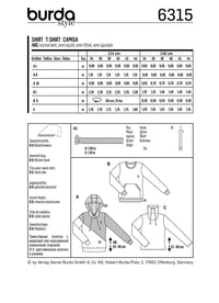 BD6315 Misses' hoodie sewing pattern from Jaycotts Sewing Supplies