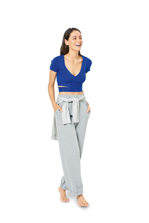 BD6333 Misses' jogging pants sewing pattern