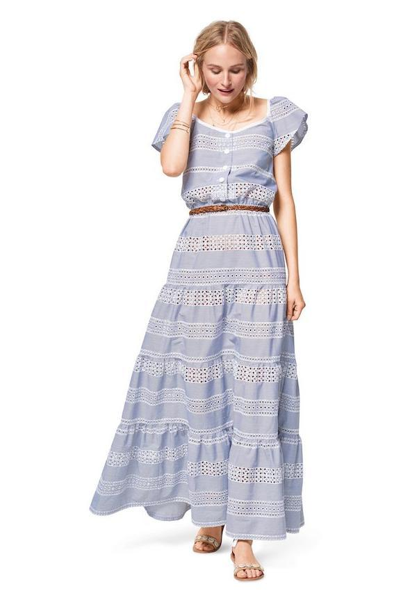 BD6403 Women's Sun Dress in Length Variations