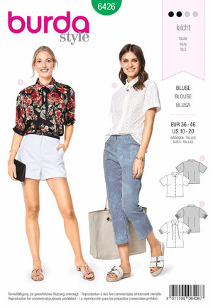 BD6426 Fancy Summer Blouses