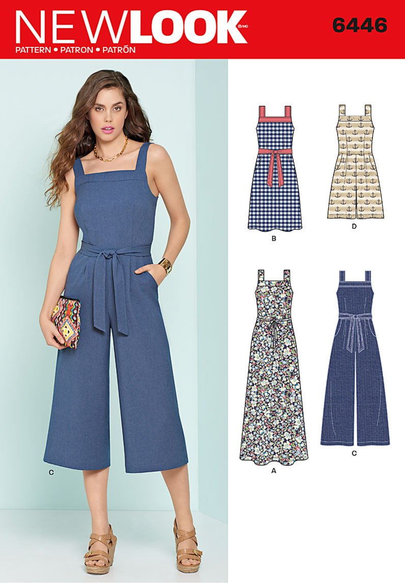 NL6446 Misses' Jumpsuits and Dresses from Jaycotts Sewing Supplies