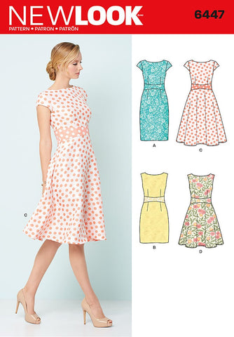 New Look 6447 sewing pattern.