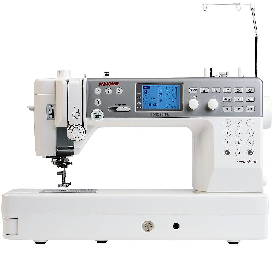 Janome Memory Craft 6700P from Jaycotts Sewing Supplies