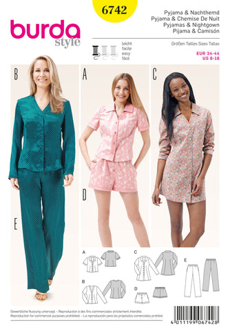 BD6742 Misses sleepwear