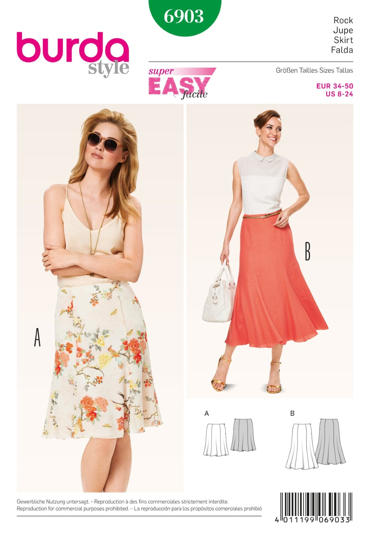 BD6903 Skirts |  Easy