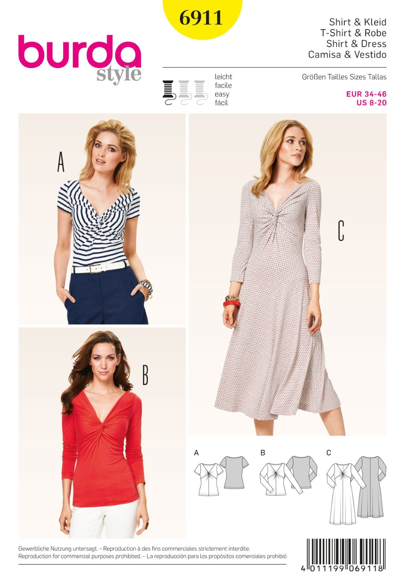BD6911 Tops & Dresses | Easy