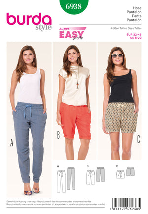 BD6938 Pants | Easy from Jaycotts Sewing Supplies