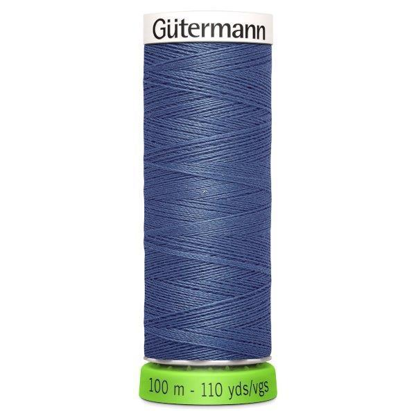 Gutermann Recycled Thread | 100m | Colour 112 Petrol from Jaycotts Sewing Supplies