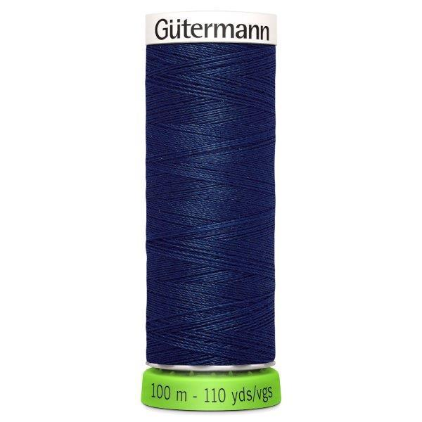 Gutermann Recycled Thread | 100m | Colour 13 Navy from Jaycotts Sewing Supplies