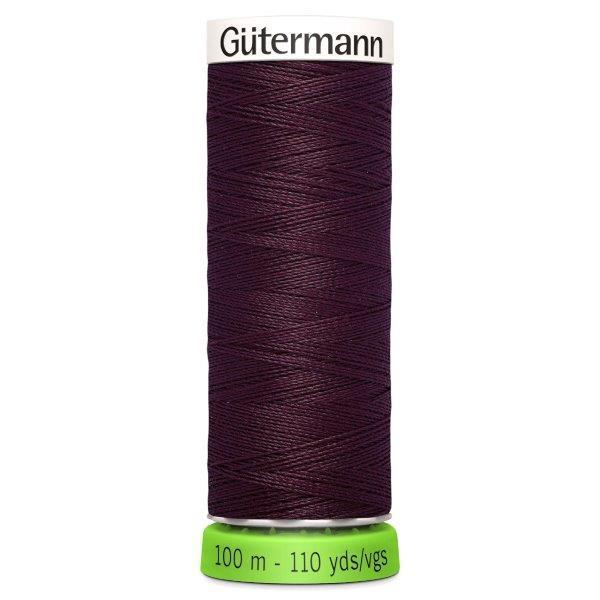 Gutermann Recycled Thread | 100m | Colour 130 Burgundy