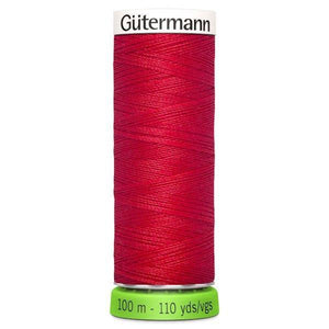 Gutermann Recycled Thread | 100m | Colour 156 Red