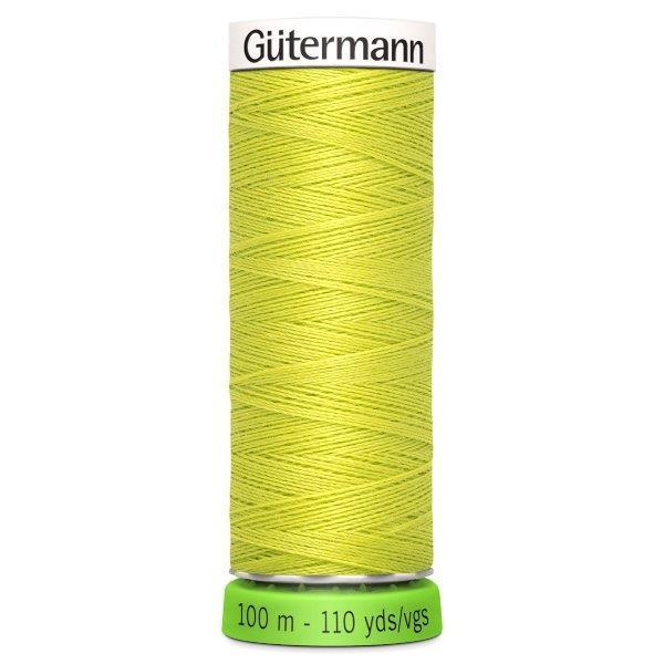 Gutermann Recycled Thread | 100m | Colour 334 yellow green