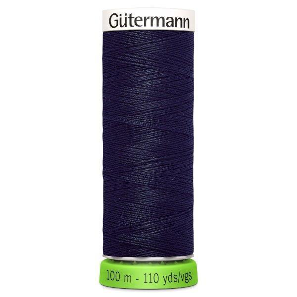 Gutermann Recycled Thread | 100m | Colour 339 Dark Navy from Jaycotts Sewing Supplies