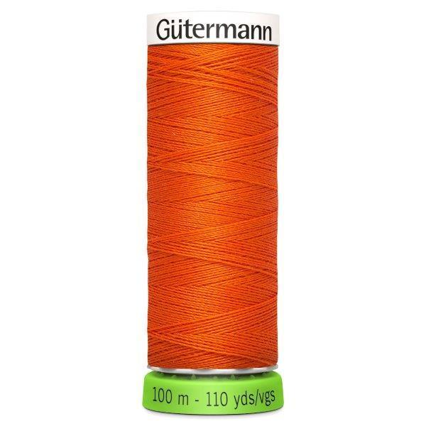 Gutermann Recycled Thread | 100m | Colour 351 Orange from Jaycotts Sewing Supplies