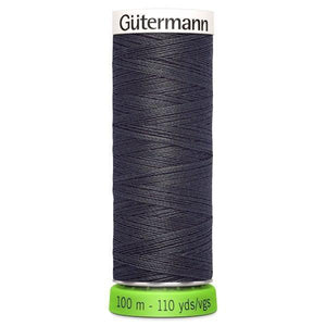 Gutermann Recycled Thread | 100m | Colour 36 Grey from Jaycotts Sewing Supplies