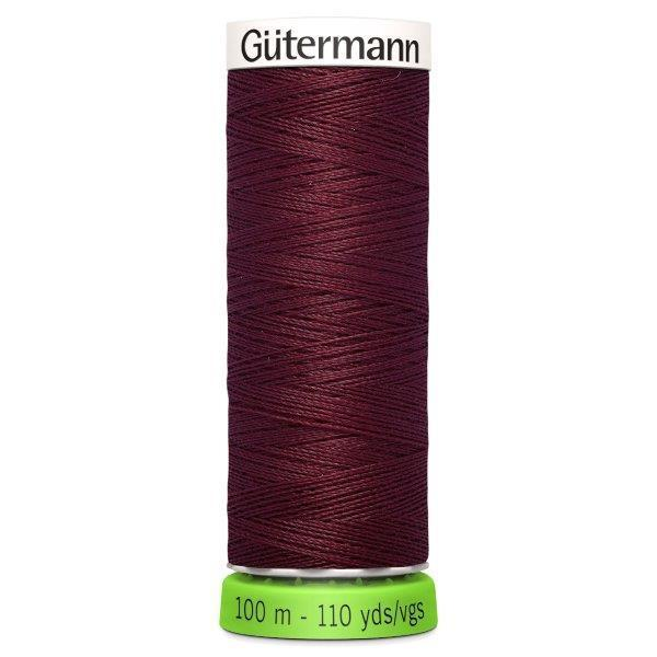 Gutermann Recycled Thread | 100m | Colour 369 Wine