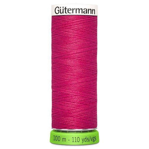 Gutermann Recycled Thread | 100m | Colour 382 Candy Red from Jaycotts Sewing Supplies