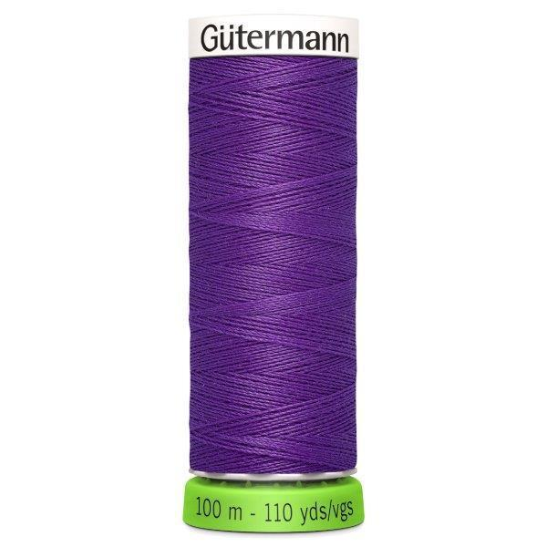 Gutermann Recycled Thread | 100m | Colour 392 Purple